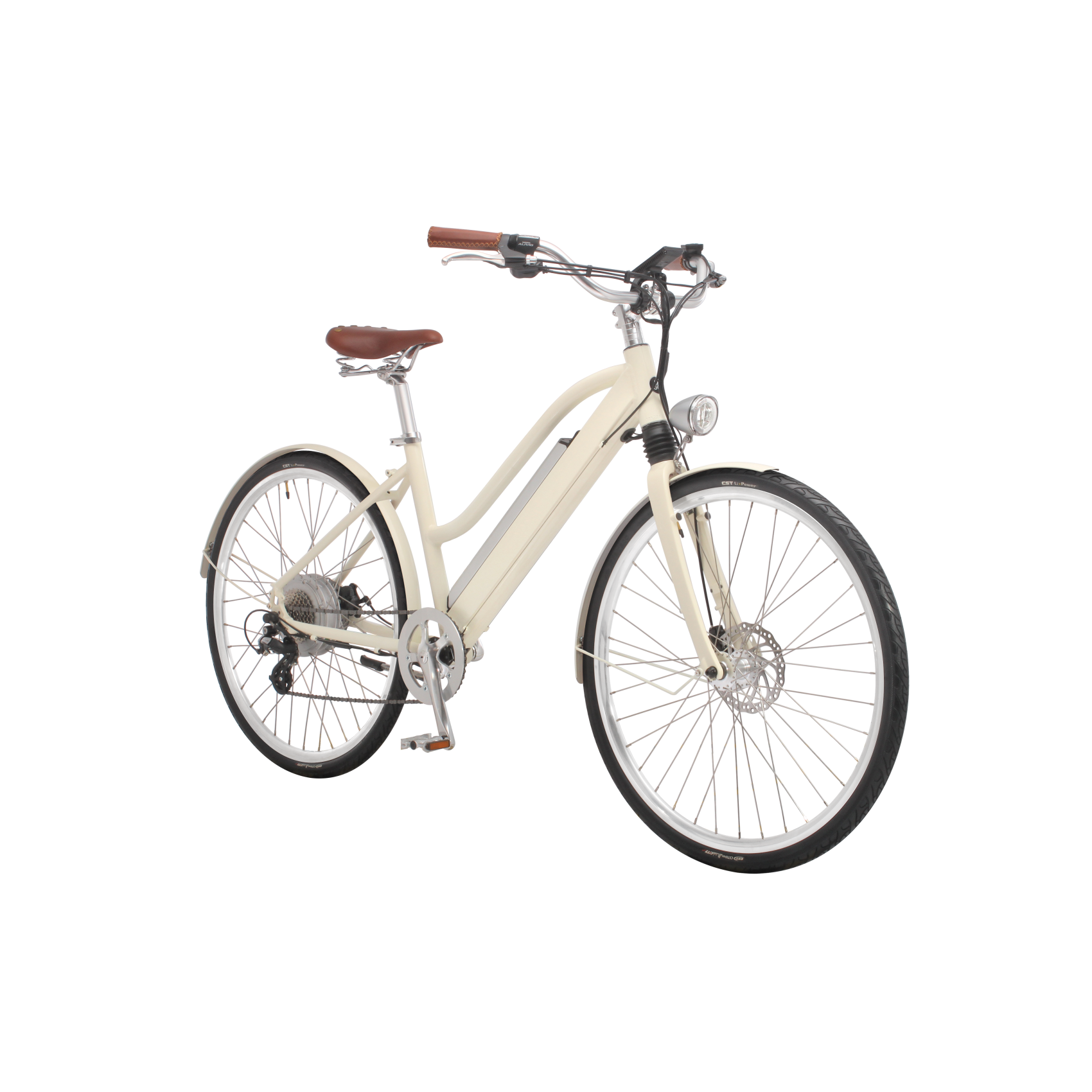 e bike white knight heckmotor 250w mit schutzblech www. Black Bedroom Furniture Sets. Home Design Ideas