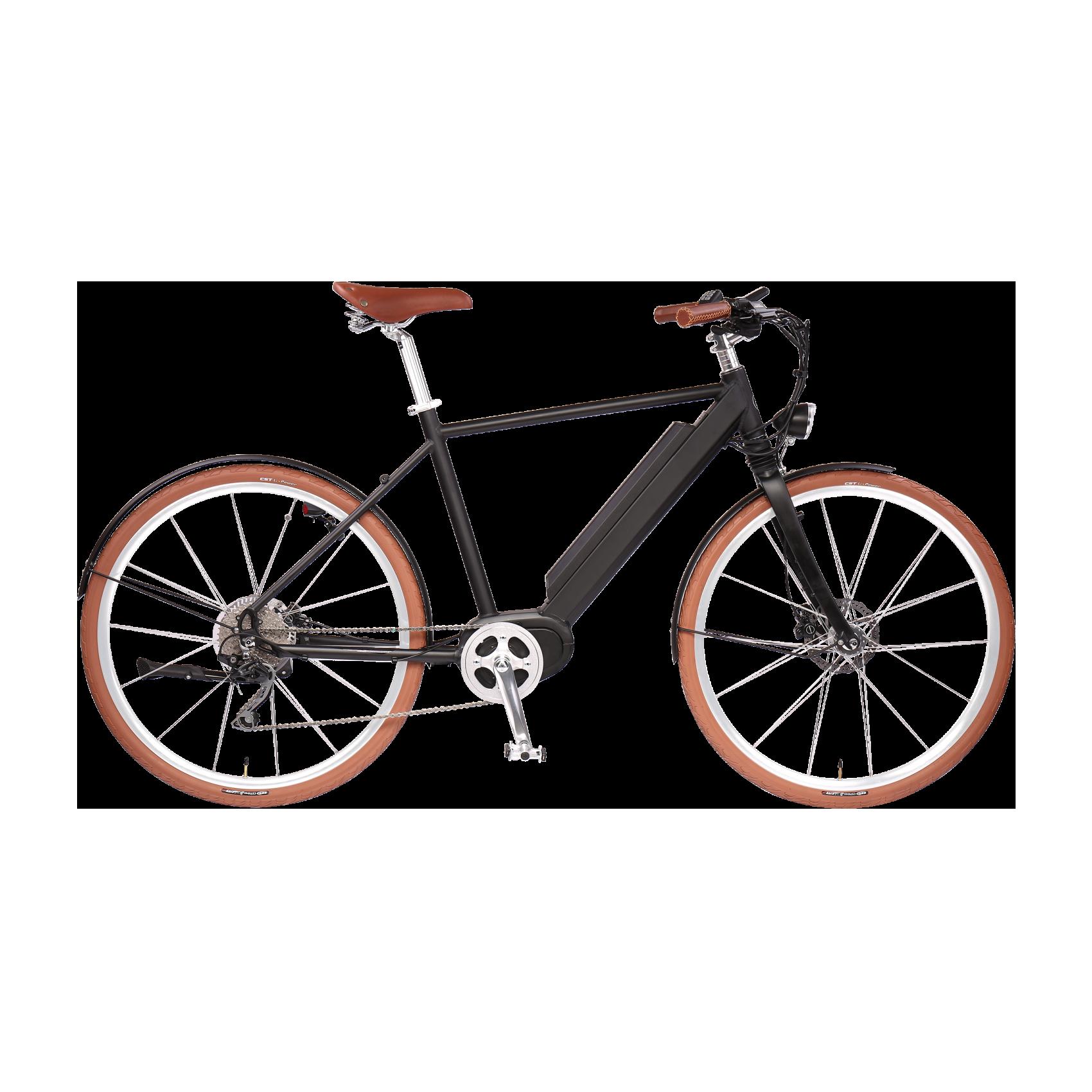 e bike man in black mittelmotor 350w mit schutzblech. Black Bedroom Furniture Sets. Home Design Ideas